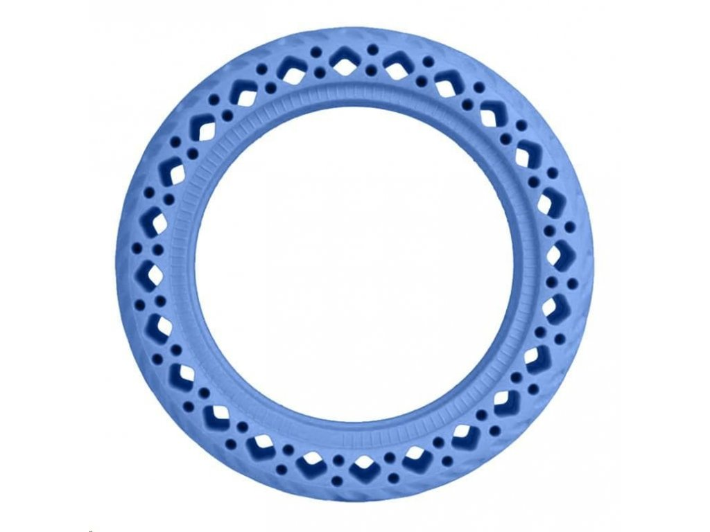Blue Rubber Wheels for Xiaomi Scooter (OEM)