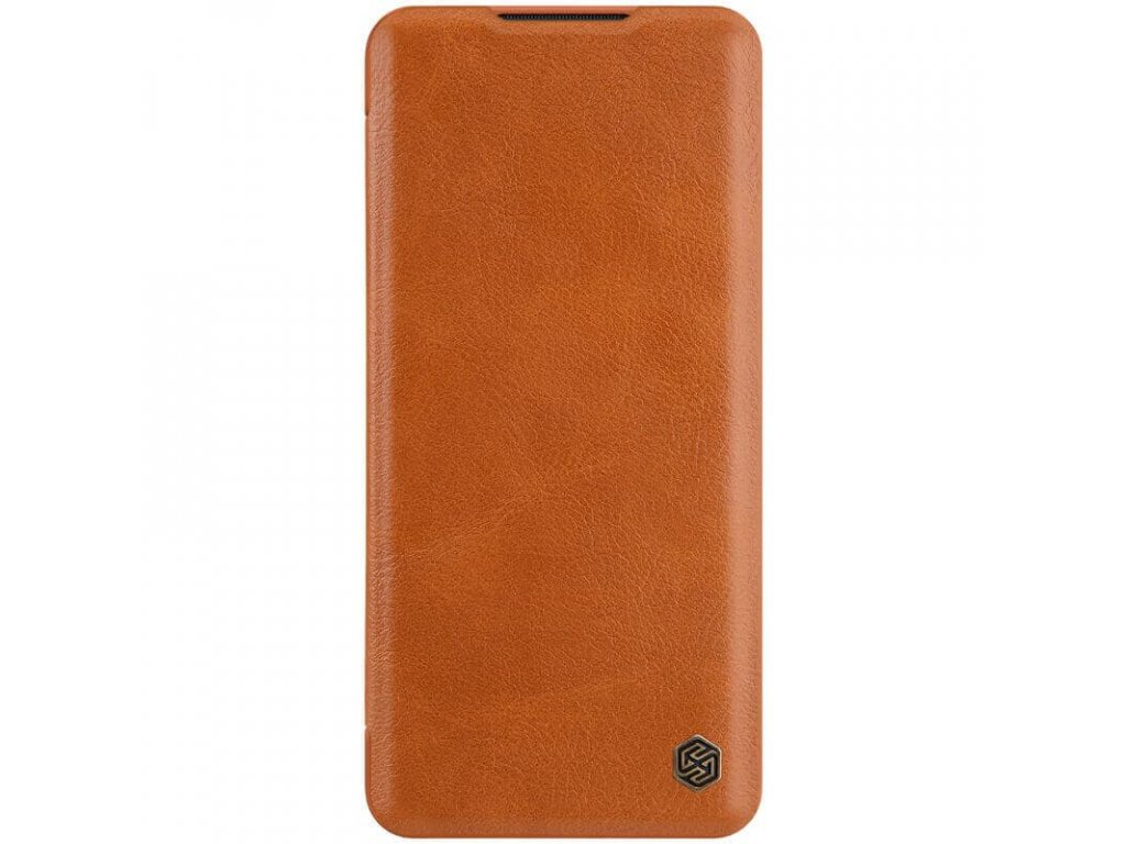Nillkin Qin Leather Case for Xiaomi Mi Note 10 (Brown)