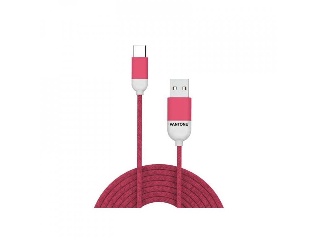 Pantone Type-C Cable 1,5m Pink