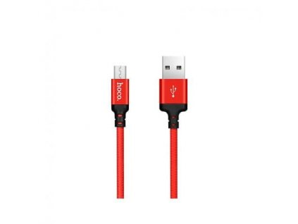 Hoco Times Speed Micro USB Charging Cable (2m) (Red and Black)