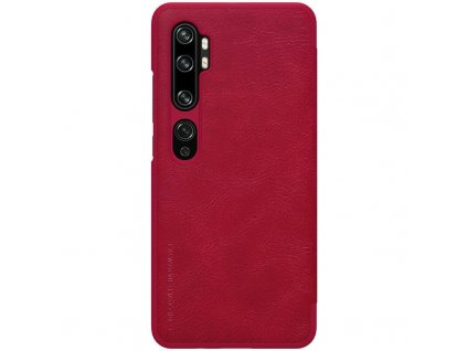 Nillkin Qin Leather Case for Xiaomi Mi Note 10 (Red)